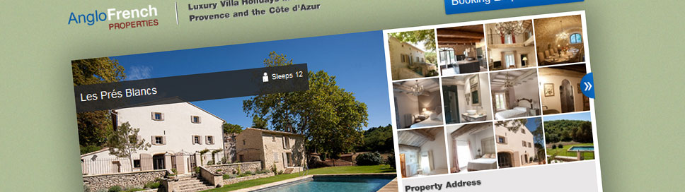Anglo French Properties Luxury Rentals