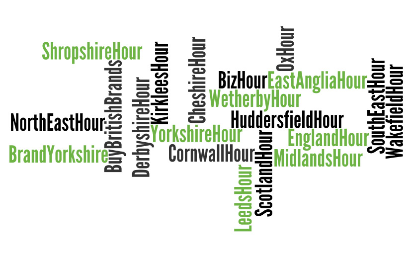 UK Twitter Hours - The hashtags you need to know! :: Design that fits